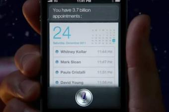 サンタもiPhone 4Sを使う