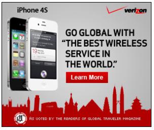 VerizonのiPhone 4S広告