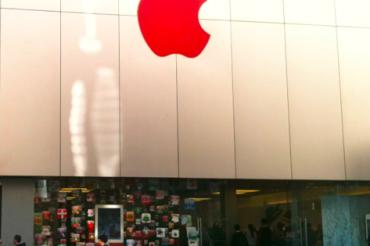 リンゴが赤くなった
