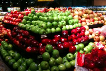リンゴの山