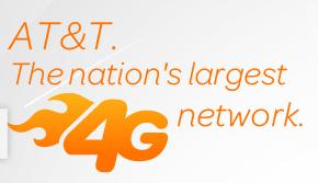 AT&Tが「全米最大の4G」
