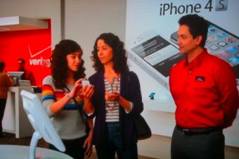 VerizonのiPhone 4Sの新CM