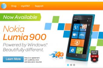 Lumia 900は静かな滑り出し