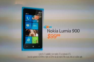 Lumia 900のテレビCM