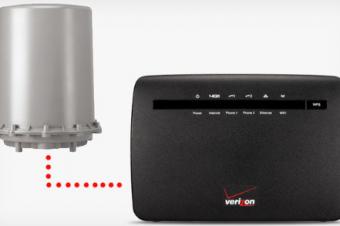 Verizonが固定LTEサービス