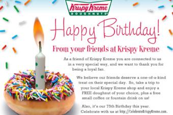 Krispy Kremeには失望