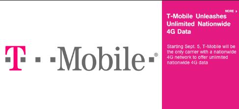 T-Mobileが真の無制限データ