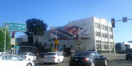 街角のiPad