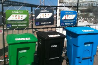 サンフランシスコのゴミ捨て事情