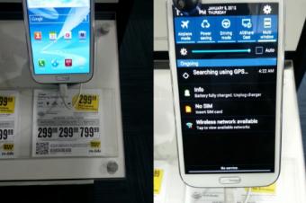 未発売のVerizonのGalaxy Note IIがBest Buyに