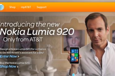 AT&TのLumia 920デザインコンテスト