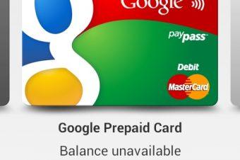 Google Walletの変なカード