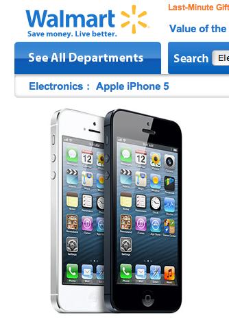 WalmartがiPhoneとiPadを値下げ