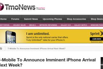 iPhone 5がT-Mobileから出るという思惑