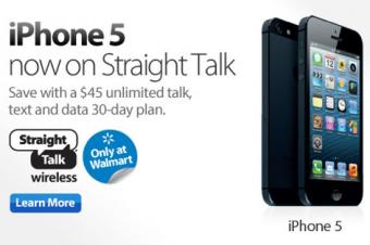 WalmartのiPhone 5はデータプランが安い