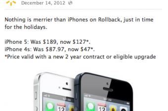 WalmartのiPhone 5セールにBest Buyがクレーム