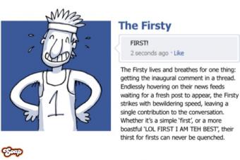 Facebookには36種類の顔がある