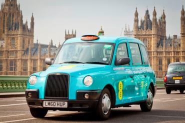 ロンドンに「最速」タクシー登場