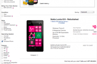 T-MobileからWindows Phoneが消えた