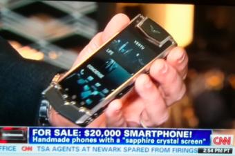 2万ドルのスマートフォン