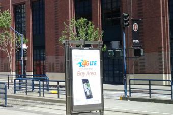 AT&TがLTEの街角広告を再開