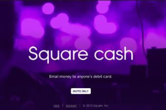 メールで送金ができるSquare Cash