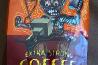 目の覚めるようなコーヒー