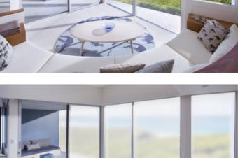 Wi-Fi対応の窓ガラス