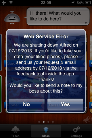 Googleがレコメンデーションアプリ「Alfred」を終了