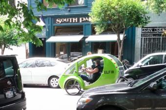 いいことづくめのソーラー自転車