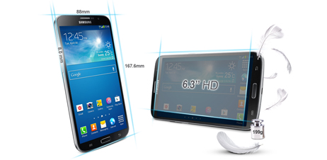 SamsungとNokiaが大画面スマホ競争