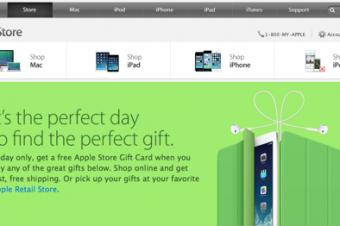 Appleのブラックフライデーセールはギフトカード