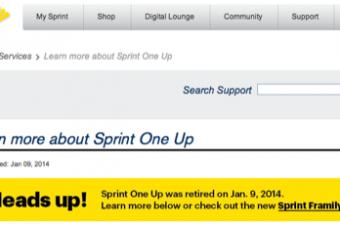 Sprintが端末早期買換えオプションを廃止