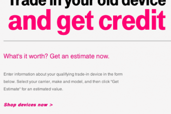 T-Mobileが乗換えプロモーション