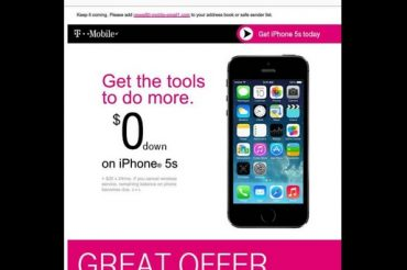 T-MobileがBlackBerryからiPhoneに買換えを奨励