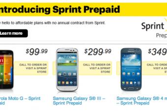 Sprintがプリペイドプランを刷新
