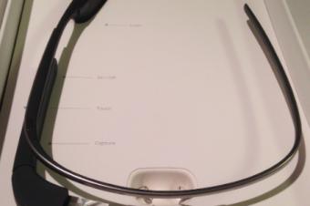 Google Glassが届いた
