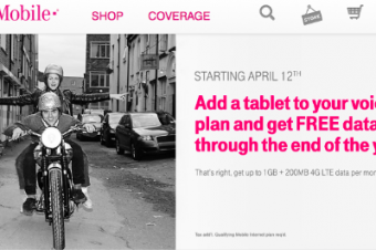 T-Mobileが「タブレットフリーダム作戦」を展開
