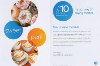 AT&Tがドーナツをおごってくれる