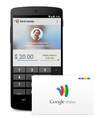 Google WalletがGlassでも使える