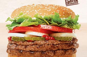 最強のハンバーガー