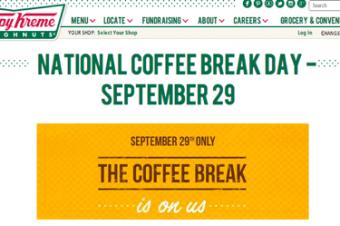 全国コーヒーブレイクの日を祝う