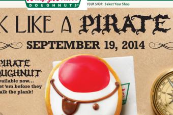 また海賊ドーナツがやって来た