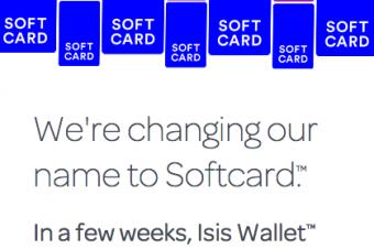 IsisがSoftcardに名称変更