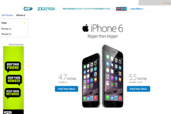 WalmartがiPhone 6/6 Plusの販売を開始
