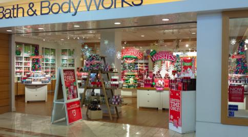 クリスマスモード満載の店構え