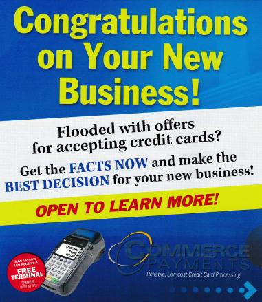 クレジットカード決済サービスの勧誘DM