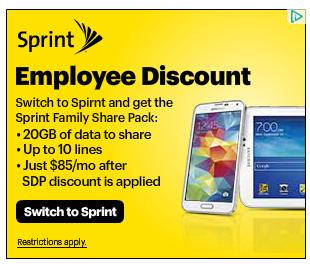Sprintの広告に一言