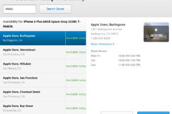 iPhone 6/6 Plusの品薄状態が解消