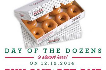 12月12日をドーナツで祝う